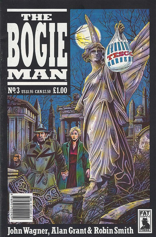 Cover of Bogie Man, The #3. One of 250,000 Vintage American Comics on sale from Krypton!