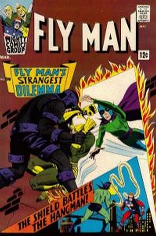 Cover of Fly Man (Vol 1) #36. One of 250,000 Vintage American Comics on sale from Krypton!