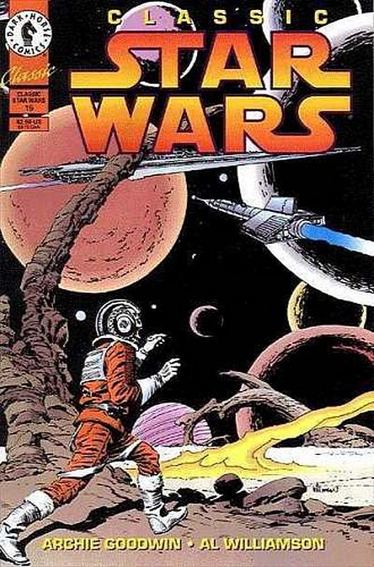 Cover of Classic Star Wars    #15. One of 250,000 Vintage American Comics on sale from Krypton!