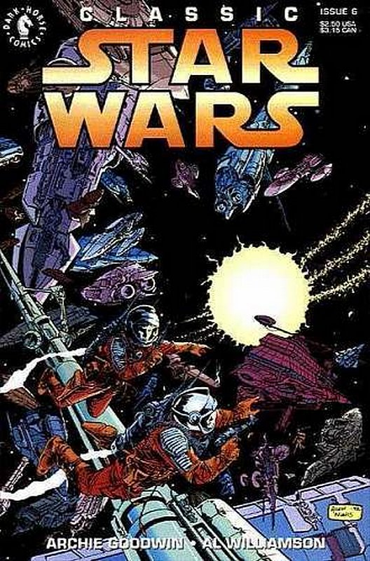 Cover of Classic Star Wars    #6. One of 250,000 Vintage American Comics on sale from Krypton!