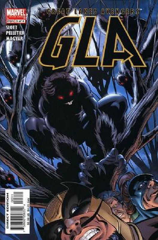 Cover of GLA (2005 Ltd) #3. One of 250,000 Vintage American Comics on sale from Krypton!