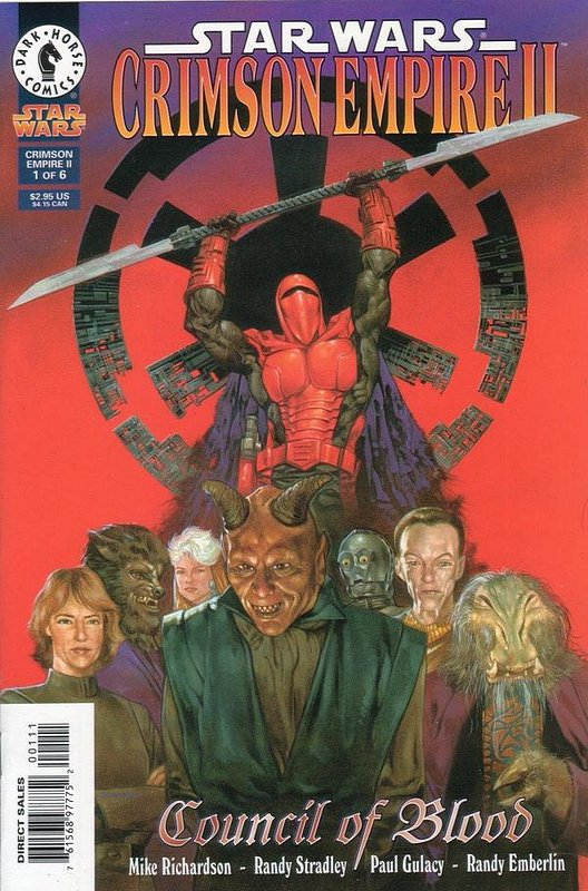 Cover of Star Wars: Crimson Empire II #1. One of 250,000 Vintage American Comics on sale from Krypton!