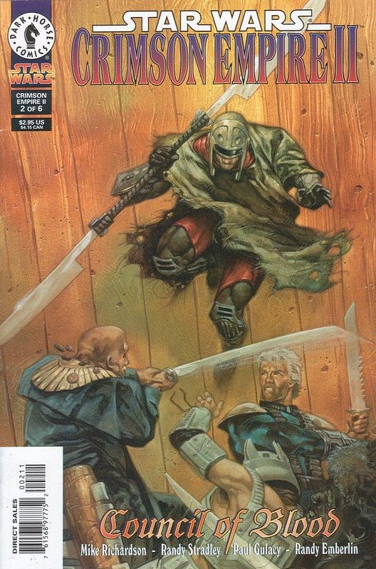Cover of Star Wars: Crimson Empire II #2. One of 250,000 Vintage American Comics on sale from Krypton!