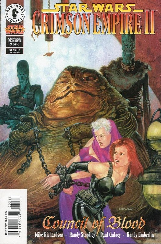 Cover of Star Wars: Crimson Empire II #3. One of 250,000 Vintage American Comics on sale from Krypton!