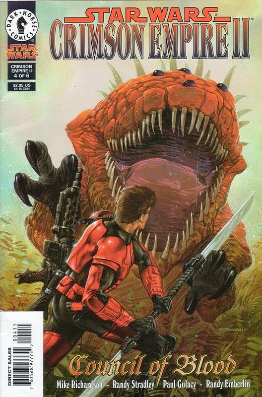 Cover of Star Wars: Crimson Empire II #4. One of 250,000 Vintage American Comics on sale from Krypton!