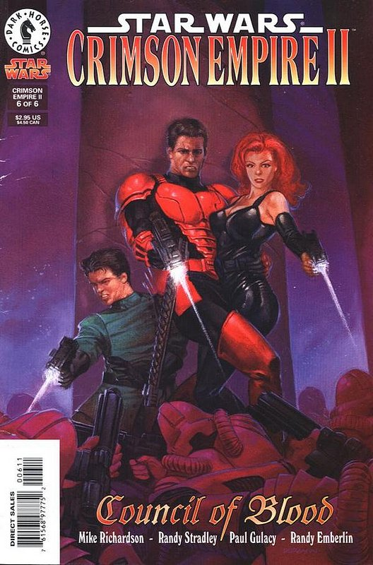 Cover of Star Wars: Crimson Empire II #6. One of 250,000 Vintage American Comics on sale from Krypton!