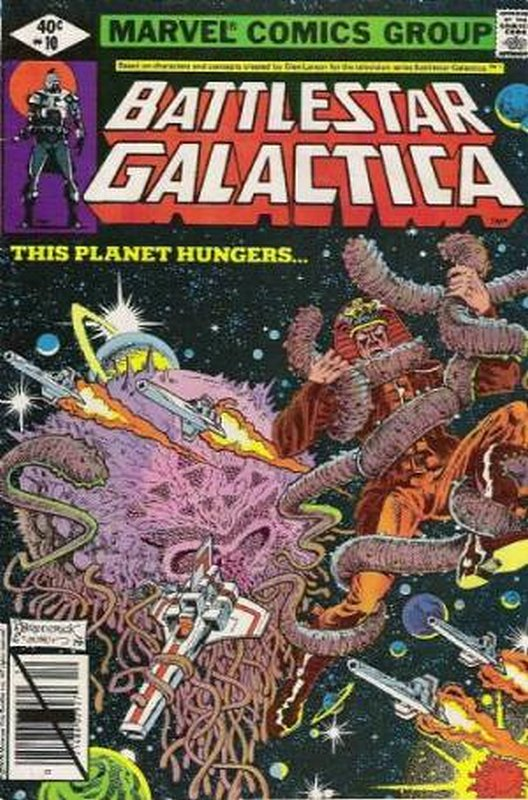 Cover of Battlestar Galactica (Vol 1) #10. One of 250,000 Vintage American Comics on sale from Krypton!