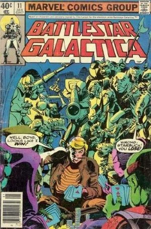 Cover of Battlestar Galactica (Vol 1) #11. One of 250,000 Vintage American Comics on sale from Krypton!
