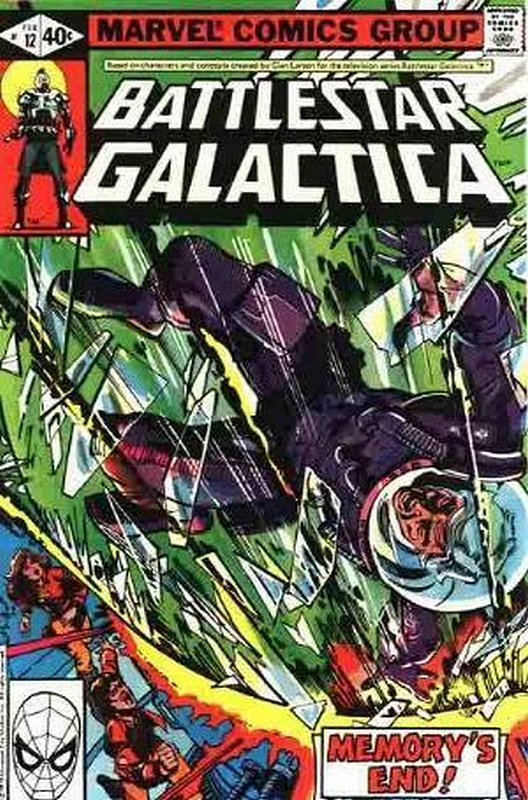 Cover of Battlestar Galactica (Vol 1) #12. One of 250,000 Vintage American Comics on sale from Krypton!