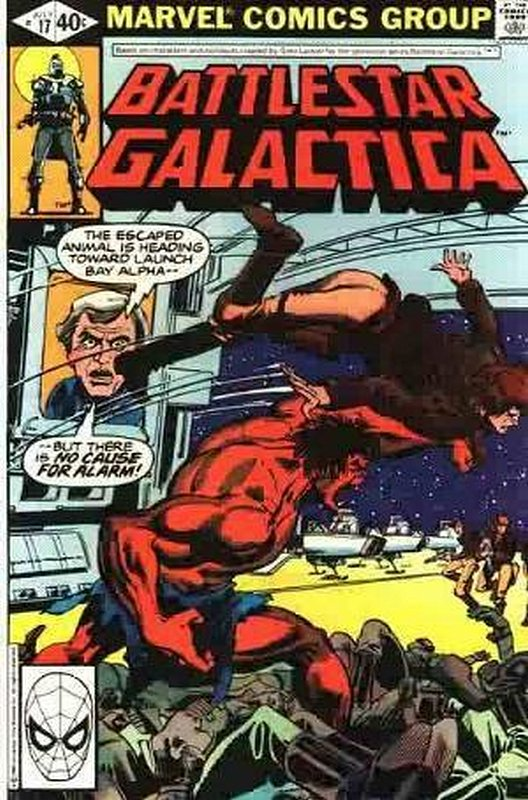 Cover of Battlestar Galactica (Vol 1) #17. One of 250,000 Vintage American Comics on sale from Krypton!