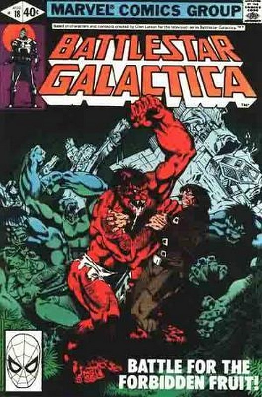 Cover of Battlestar Galactica (Vol 1) #18. One of 250,000 Vintage American Comics on sale from Krypton!