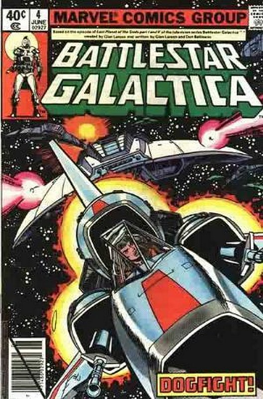 Cover of Battlestar Galactica (Vol 1) #4. One of 250,000 Vintage American Comics on sale from Krypton!