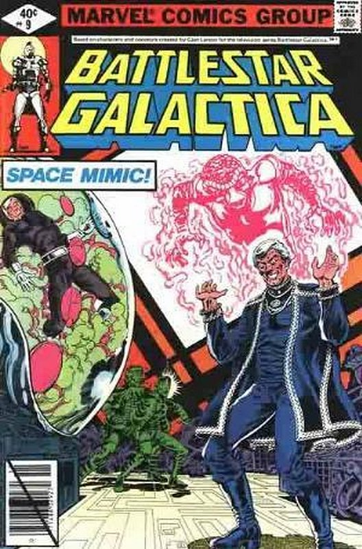 Cover of Battlestar Galactica (Vol 1) #9. One of 250,000 Vintage American Comics on sale from Krypton!