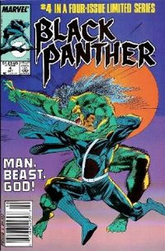 Cover of Black Panther (1988 Ltd) #4. One of 250,000 Vintage American Comics on sale from Krypton!