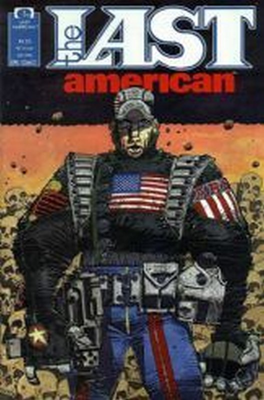 Cover of Last American (1990 Ltd) The #1. One of 250,000 Vintage American Comics on sale from Krypton!