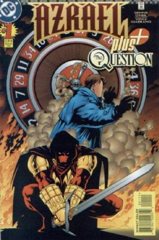 Cover of Azrael Plus The Question (1996 One Shot) #1. One of 250,000 Vintage American Comics on sale from Krypton!