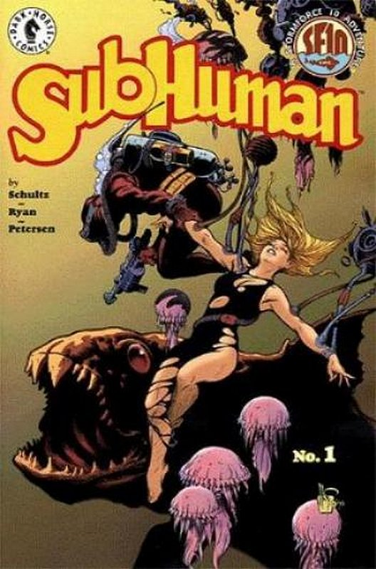 Cover of Subhuman (1998 Ltd) #1. One of 250,000 Vintage American Comics on sale from Krypton!