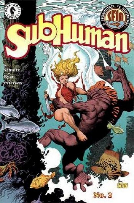 Cover of Subhuman (1998 Ltd) #2. One of 250,000 Vintage American Comics on sale from Krypton!