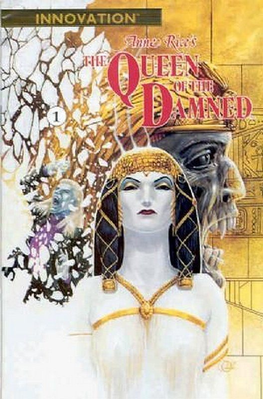 Cover of Queen of the Damned, Anne Rices (1991 Ltd) #1. One of 250,000 Vintage American Comics on sale from Krypton!