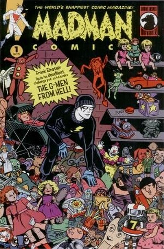 Cover of Madman Comics: The G-Men from Hell (2000 Ltd) #1. One of 250,000 Vintage American Comics on sale from Krypton!
