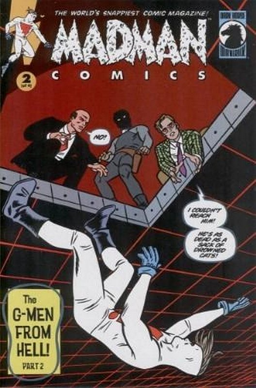 Cover of Madman Comics: The G-Men from Hell (2000 Ltd) #2. One of 250,000 Vintage American Comics on sale from Krypton!