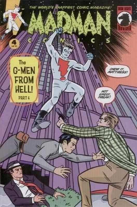 Cover of Madman Comics: The G-Men from Hell (2000 Ltd) #4. One of 250,000 Vintage American Comics on sale from Krypton!