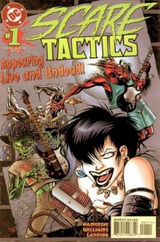 Cover of Scare Tactics (Vol 1) #1. One of 250,000 Vintage American Comics on sale from Krypton!