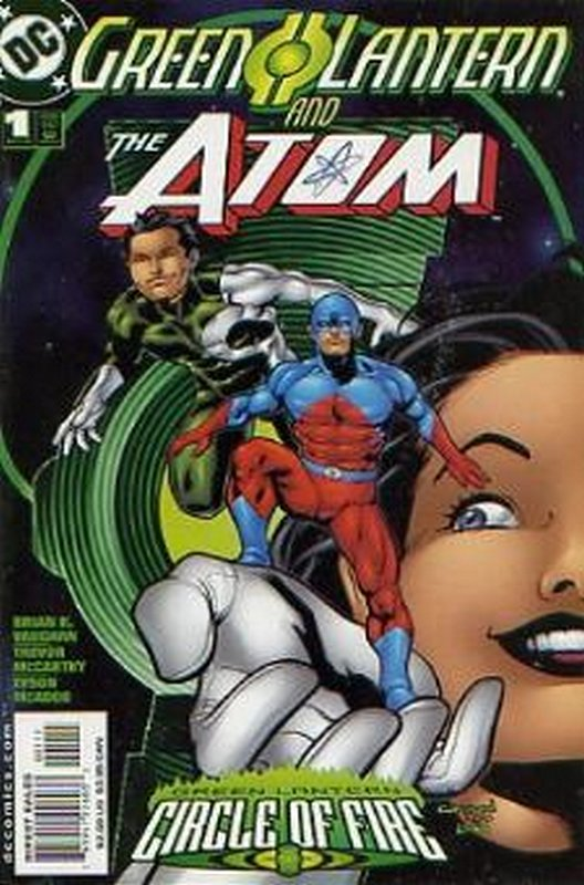 Cover of Green Lantern/Atom (2000 One Shot) #1. One of 250,000 Vintage American Comics on sale from Krypton!