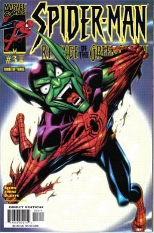 Cover of Spider-Man: Revenge of the Green Goblin (2000 Ltd) #3. One of 250,000 Vintage American Comics on sale from Krypton!