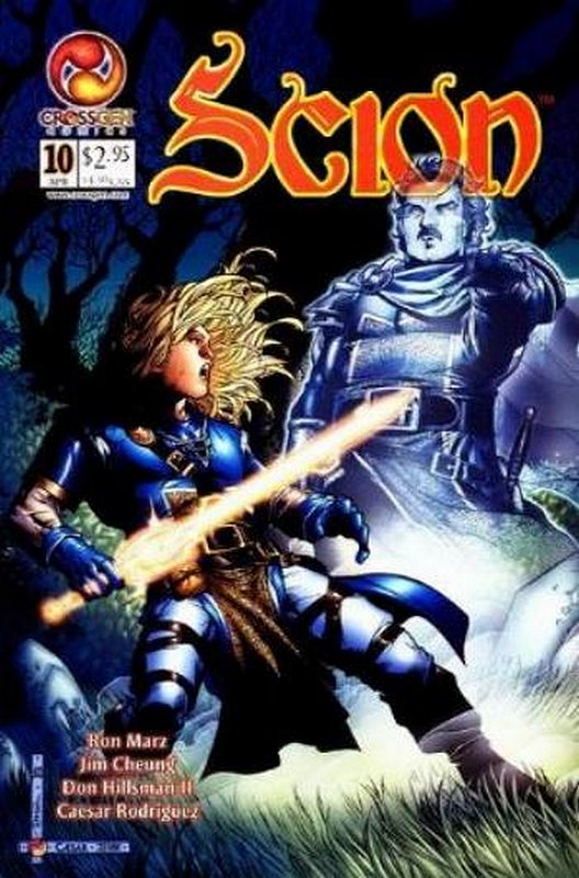 Cover of Scion (Vol 1) #10. One of 250,000 Vintage American Comics on sale from Krypton!
