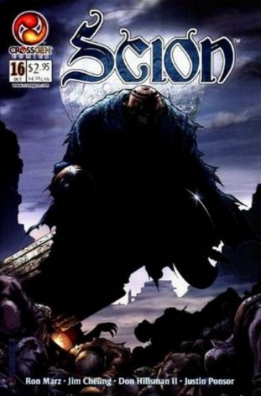Cover of Scion (Vol 1) #16. One of 250,000 Vintage American Comics on sale from Krypton!
