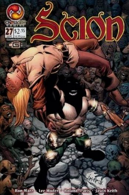 Cover of Scion (Vol 1) #27. One of 250,000 Vintage American Comics on sale from Krypton!
