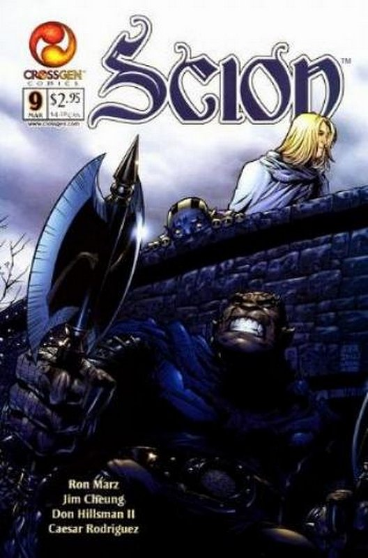 Cover of Scion (Vol 1) #9. One of 250,000 Vintage American Comics on sale from Krypton!