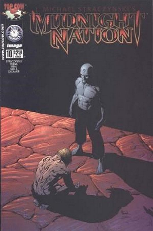 Cover of Midnight Nation (Vol 1) #10. One of 250,000 Vintage American Comics on sale from Krypton!