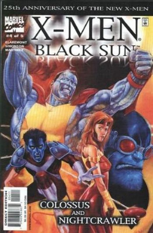 Cover of X-Men: Black Sun (200 Ltd) #4. One of 250,000 Vintage American Comics on sale from Krypton!