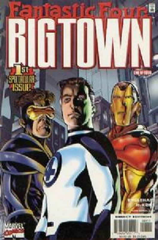 Cover of Fantastic Four: Big Town (2000 Ltd) #1. One of 250,000 Vintage American Comics on sale from Krypton!