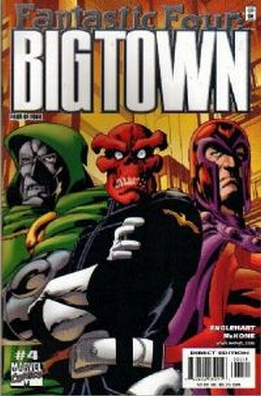 Cover of Fantastic Four: Big Town (2000 Ltd) #4. One of 250,000 Vintage American Comics on sale from Krypton!