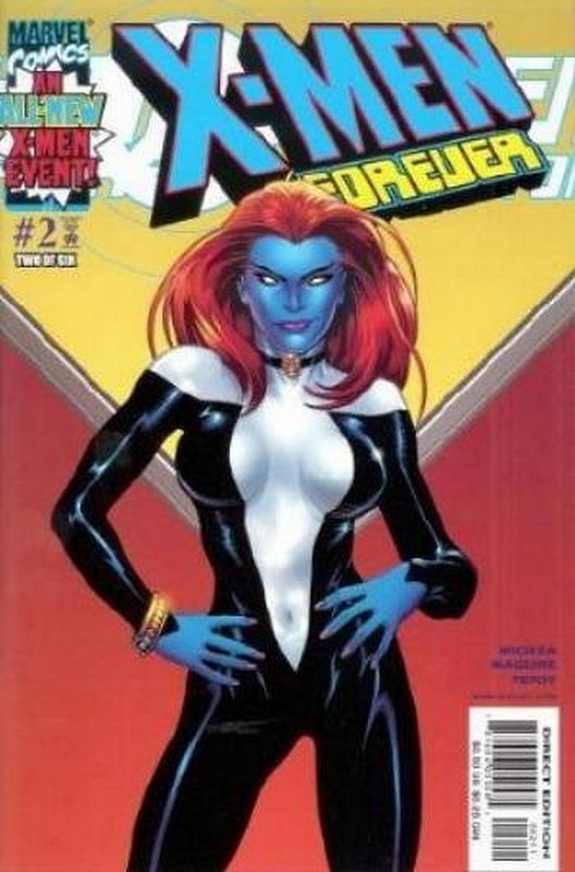 Cover of X-Men Forever (2001 Ltd) #2. One of 250,000 Vintage American Comics on sale from Krypton!
