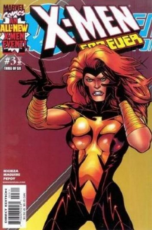 Cover of X-Men Forever (2001 Ltd) #3. One of 250,000 Vintage American Comics on sale from Krypton!