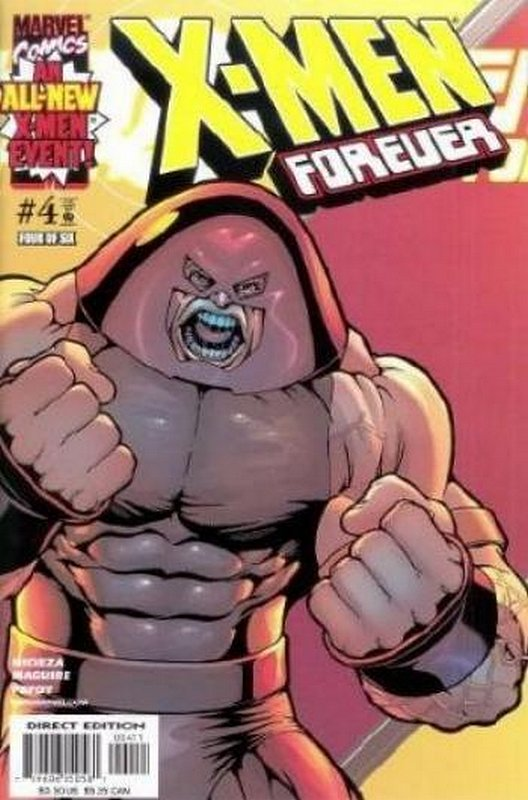 Cover of X-Men Forever (2001 Ltd) #4. One of 250,000 Vintage American Comics on sale from Krypton!