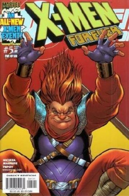 Cover of X-Men Forever (2001 Ltd) #5. One of 250,000 Vintage American Comics on sale from Krypton!