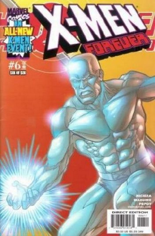 Cover of X-Men Forever (2001 Ltd) #6. One of 250,000 Vintage American Comics on sale from Krypton!