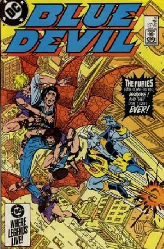Cover of Blue Devil (Vol 1) #10. One of 250,000 Vintage American Comics on sale from Krypton!