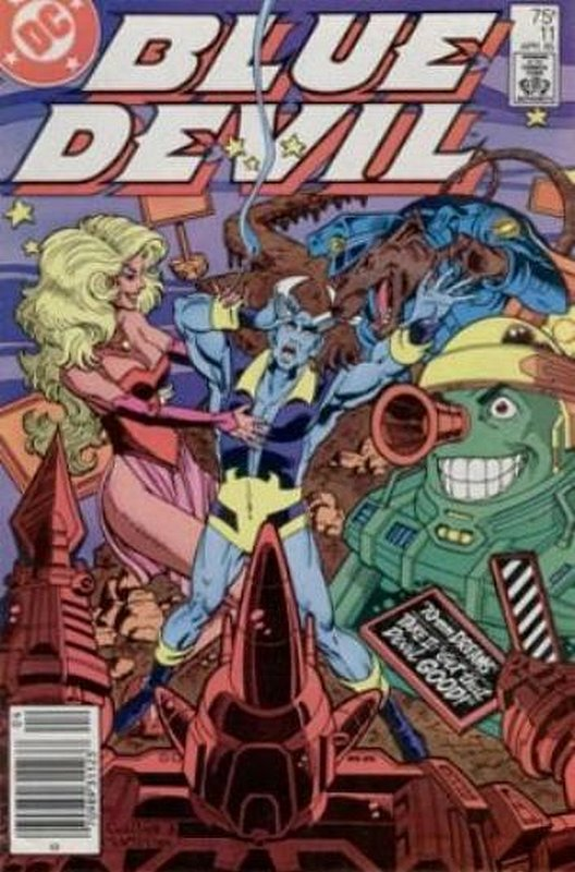 Cover of Blue Devil (Vol 1) #11. One of 250,000 Vintage American Comics on sale from Krypton!