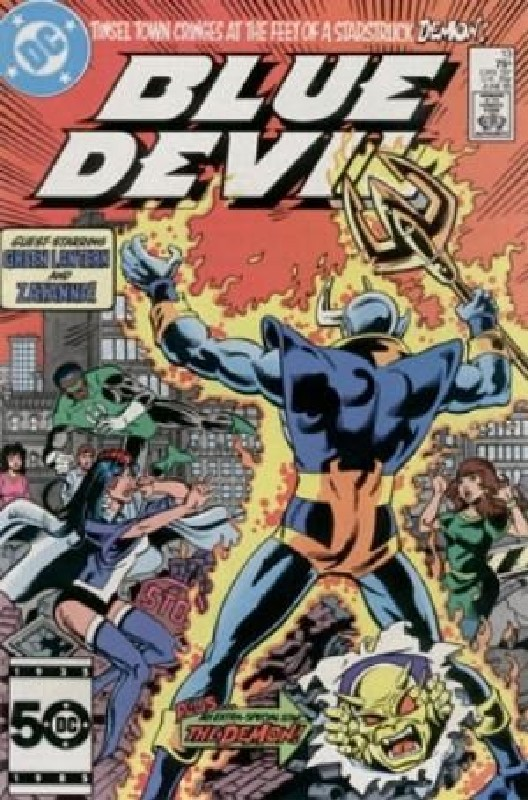 Cover of Blue Devil (Vol 1) #13. One of 250,000 Vintage American Comics on sale from Krypton!