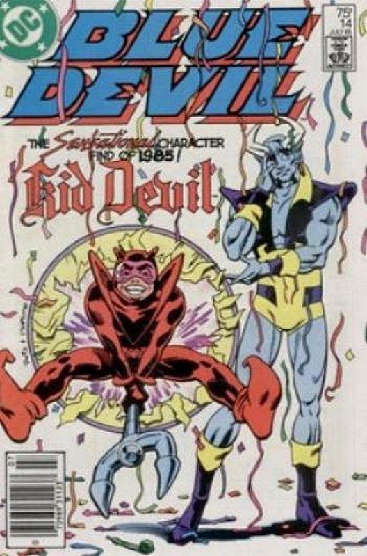 Cover of Blue Devil (Vol 1) #14. One of 250,000 Vintage American Comics on sale from Krypton!