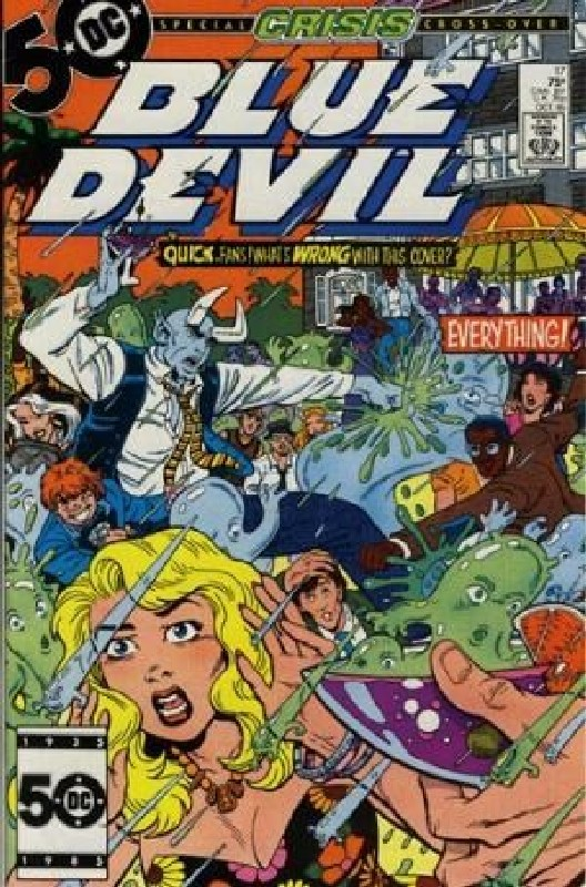 Cover of Blue Devil (Vol 1) #17. One of 250,000 Vintage American Comics on sale from Krypton!
