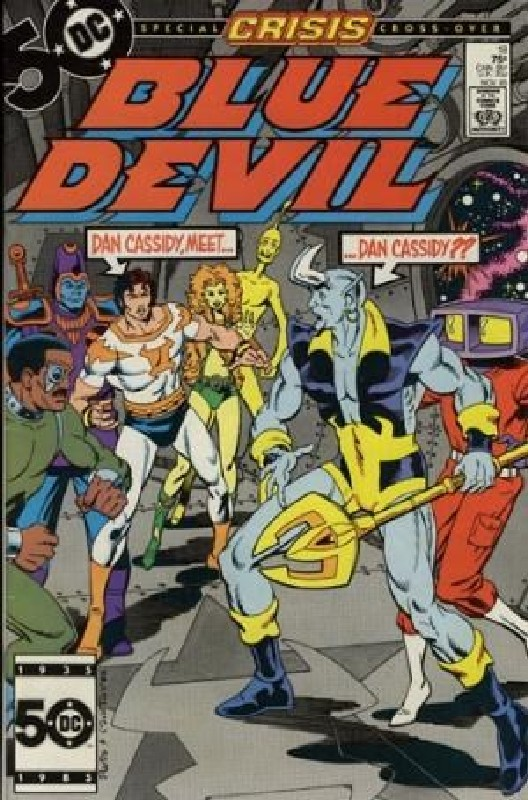 Cover of Blue Devil (Vol 1) #18. One of 250,000 Vintage American Comics on sale from Krypton!