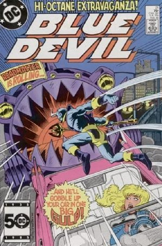 Cover of Blue Devil (Vol 1) #21. One of 250,000 Vintage American Comics on sale from Krypton!