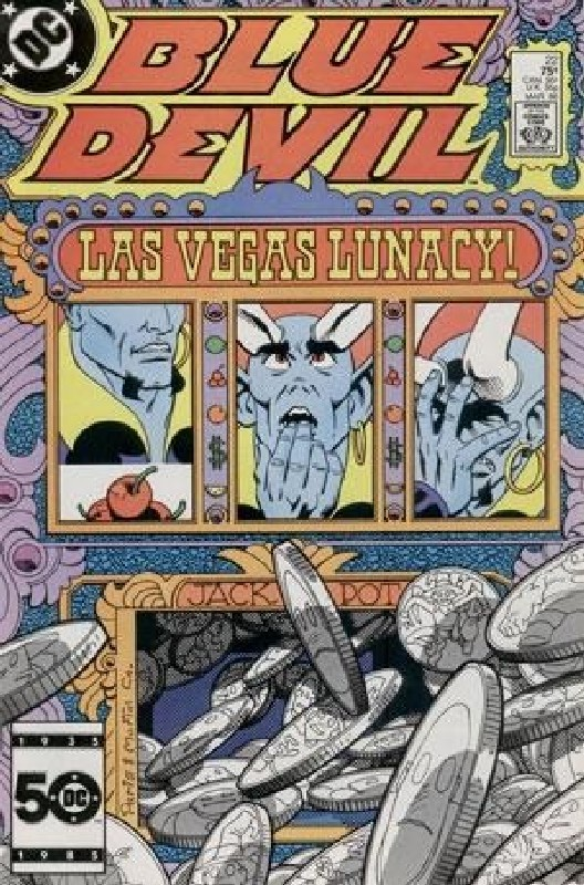 Cover of Blue Devil (Vol 1) #22. One of 250,000 Vintage American Comics on sale from Krypton!